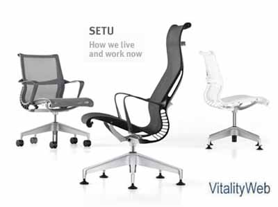 Herman Miller Embody Home Office Task Chairs